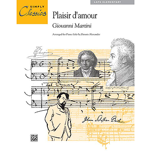 Plasir D' Amour - Simply Classics Solos