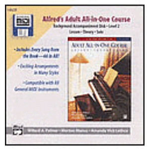 Alfred's Adult All-In-One Piano Course - Level 2 (Background Accompaniment Disks)