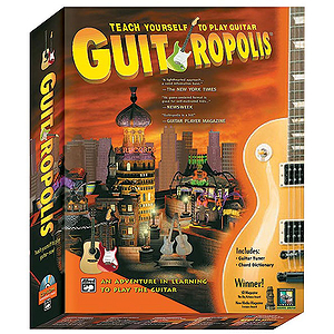Guitropolis - An Adventure in Learning To Play the Guitar - CD-ROM (Windows/Macintosh)
