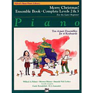 Alfred's Basic Piano Course - Merry Christmas! Ensemble Book - Complete Levels 2 & 3