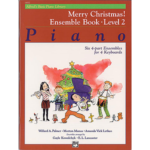 Alfred's Basic Piano Course - Merry Christmas! Ensemble Book Level 2