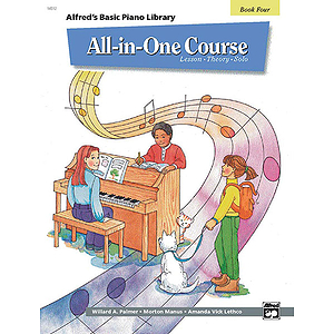Alfred's Basic All-In-One Course for Children - Book 4