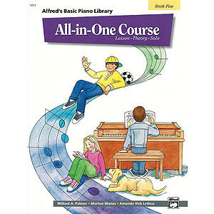 Alfred's Basic All-In-One Course for Children - Book 5