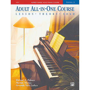 Alfred's Adult All-In-One Piano Course - Level 2 - Book