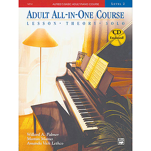 Alfred's Adult All-In-One Piano Course - Level 2 - Book & CD