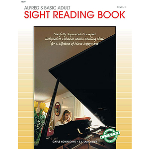 Alfred's Basic Adult Piano Course - Sight Reading Book (Level 1)