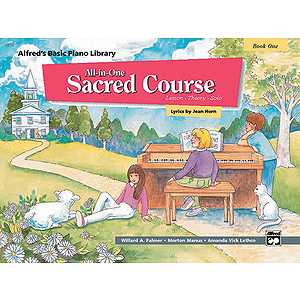 Alfred's All-In-One Sacred Course (Book One)