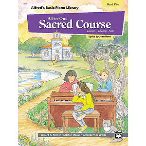 Alfred's All-In-One Sacred Course (Book Five)