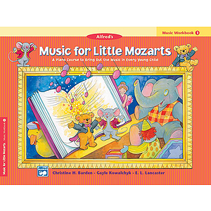 Music for Little Mozarts - Music Workbook (Level 1)