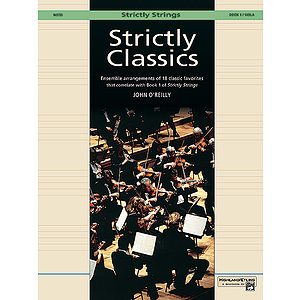 Strictly Classics, Book 1: Viola