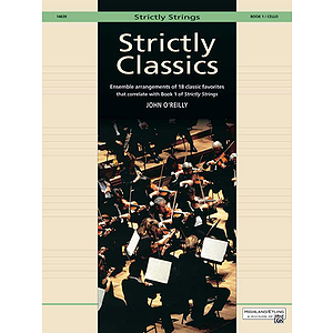 Strictly Classics, Book 1: Cello