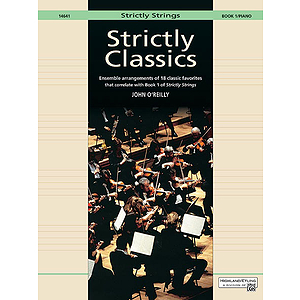 Strictly Classics, Book 1: Piano Accompaniment