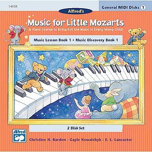 Music for Little Mozarts - General MIDI Disks for Book 1
