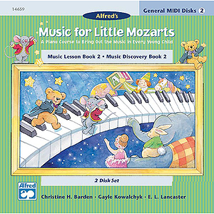 Music for Little Mozarts - General MIDI Disks for Book 2
