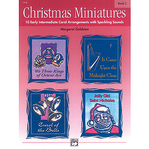 Christmas Miniatures - Book 2