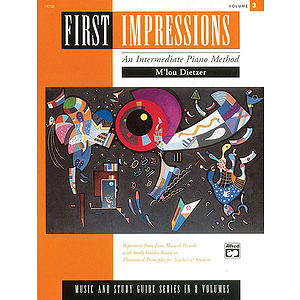First Impressions - Music and Study Guides Intermediate 3
