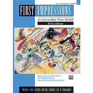 First Impressions - Music and Study Guides Late Intermediate 4