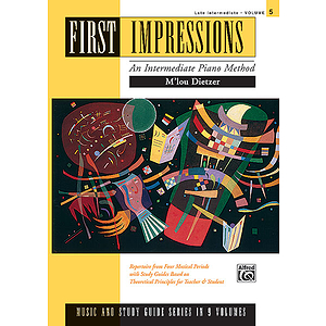 First Impressions - Music and Study Guides Late Intermediate 5
