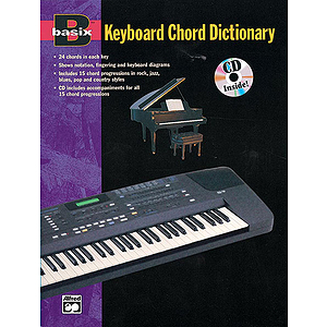 Basix Keyboard Chord Dictionary - Book &amp; CD