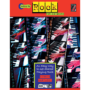 Intro To Rock Keyboard - Book