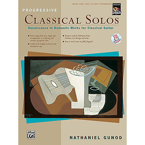 Progressive Classical Solos - Book & CD
