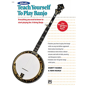Alfred's Teach Yourself To Play 5-String Banjo - Book
