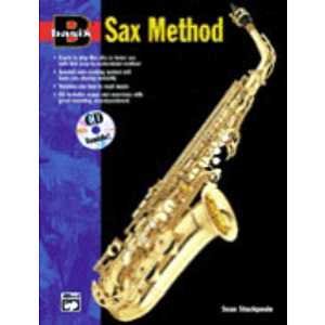 Basix Sax Method - Book & CD