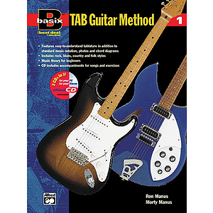 Basix Tab Guitar Method, Book 1 - Book & Enhanced CD