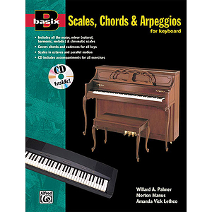 Basix Scales, Chords and Arpeggios for Keyboard - Book & CD