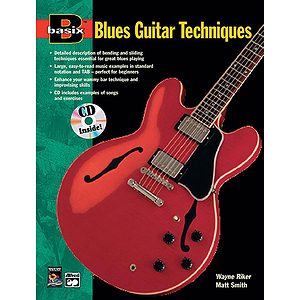 Basix Blues Guitar Techniques - Book & CD