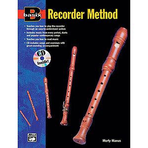 Basix Recorder Method (Book &amp; Audio CD)