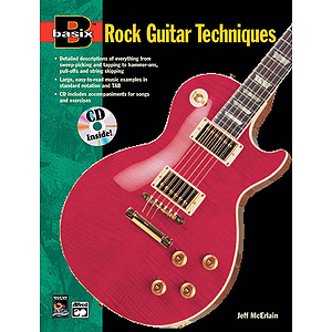 Basix Rock Guitar Techniques - Book & CD