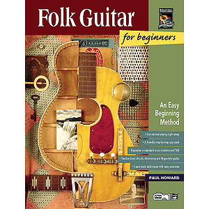 Folk Guitar for Beginners - Book & Enhanced CD