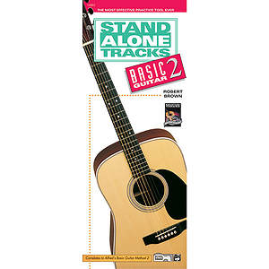 Stand Alone Tracks: Basic Guitar, Book 2 (Handy Guide & CD)