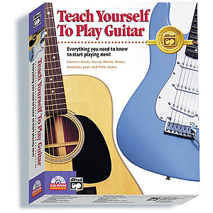 Alfred's Teach Yourself To Play Guitar (Windows/Macintosh)