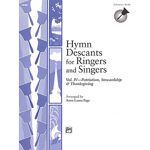 Hymn Descants for Ringers and Singers, Vol IV - Handbell Part