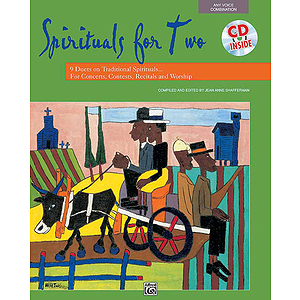 Spirituals for Two - Book and Accompaniment CD
