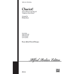 "Chariot! (""Gonna Ride Up in The Chariot""/'swing Low, Sweet Chariot"") - SATB"