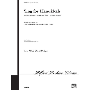 Sing for Hanukkah (Hevenu Shalom) - 2-Part