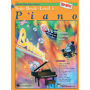 Alfred's Basic Piano Course - Top Hits! Solo Book Level 3