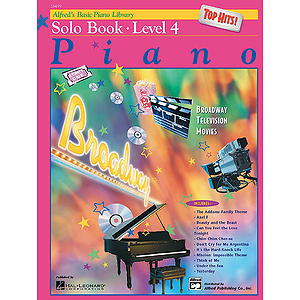 Alfred's Basic Piano Course - Top Hits! Solo Book Level 4