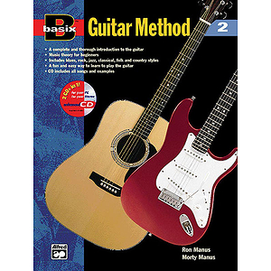 Basix Guitar Method, Book 2 - Book & Enhanced CD