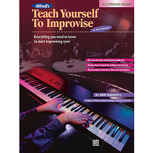 Alfred's Teach Yourself To Improvise At the Keyboard - Book