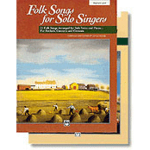Folk Songs for Solo Singers, Vol. 1 - Compact Disc Only (Medium Low)