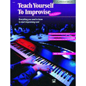 Alfred's Teach Yourself To Improvise At the Keyboard - CD