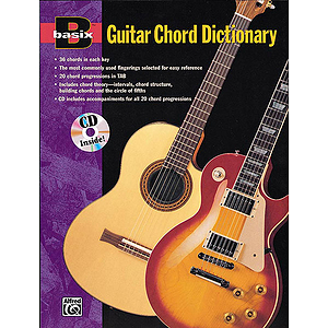 Basix Guitar Chord Dictionary - Book &amp; CD