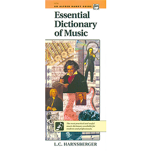 Essential Dictionary of Music (Handy Guide)