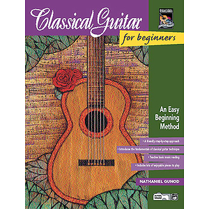 Classical Guitar for Beginners - Book