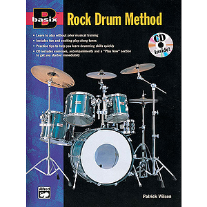 Basix Rock Drum Method - Book & CD