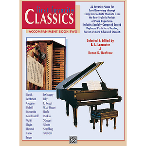 First Favorite Classics - Accompaniment Book 2 (2P, 4H)